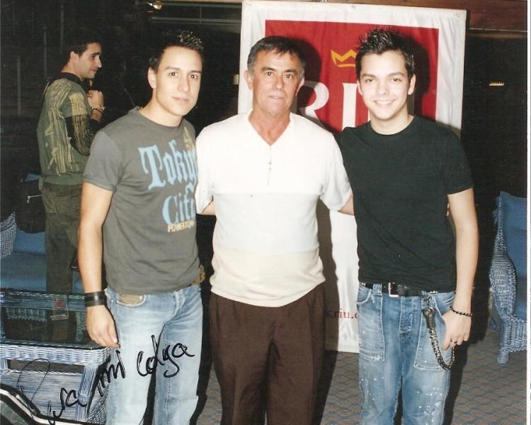 NAUZET HERNÁNDEZ Y SERGIO RIVERO